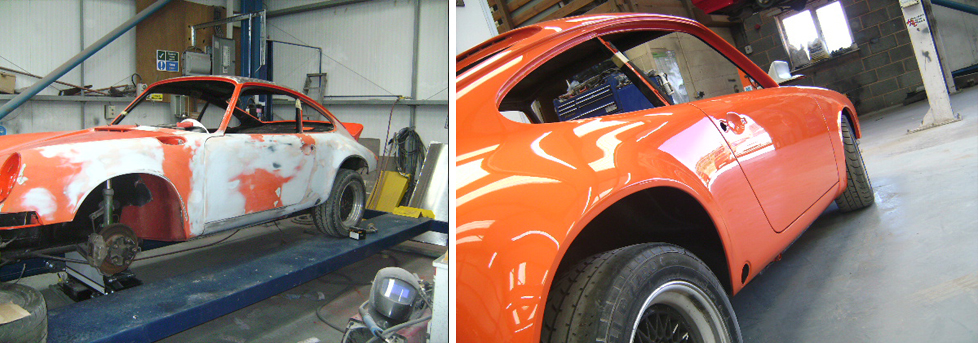 Porsche Body Restoration Devon