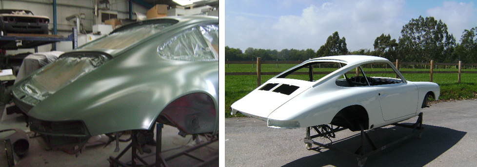 Porsche Body Restoration Exeter